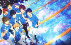 Kyoto Animation, Free!, Mikoshiba Momotaro, Nanase Haruka (Free!), Yamazaki Sosuke, Tachibana Makoto