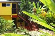villa dans le jardin 'd'éden' dzn sun site classé remarquable - location appartement #guadeloupe #sainterose
