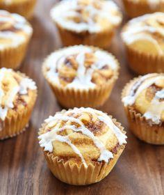 Cinnamon Roll Muffins | Kirbie's Cravings | A San Diego food & travel blog