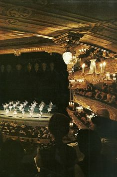 thevisiblesociety:    Ballet theater in Russia  National Geographic | May 1971
