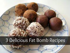 Low carb fat bomb recipes