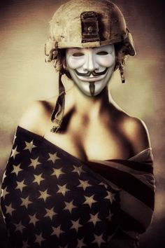 Guy Fawkes Anonymous / Anonymiss