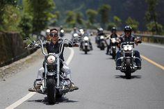 Menunggang Harley Menuju Zhejiang