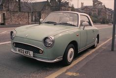 A Nissan Figaro, just like mine. I still adore her as much as ever!