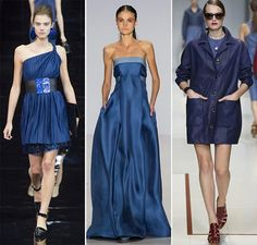 Spring/ Summer 2015 Color Trends: Classic Blue  #trends #fashiontrends #colortrends #blue
