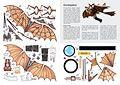 Ornitoptéra - vystřihovánka