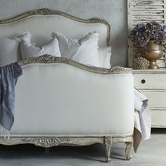 Eloquence Sophia Upholstered Silver Bed  #laylagrayce #new #furniture