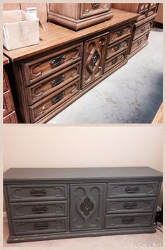 Just finished this table Chalk paint with Folk Art chalk