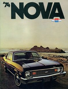 1974 Chevrolet Nova Coupe, this was my first car..color and all!