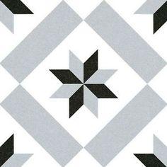 SAMPLE   Victorian Calvet Gris Floor Tile