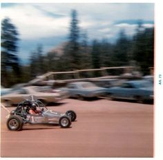 Two time Pikes Peak overall winner Roger Mears 1973 Hill Climb