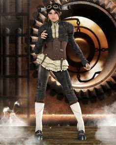 steampunk girls - Google Search