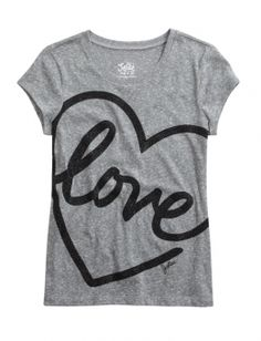 Stock up on the essentials with our selection of girls' basic tops & tanks. Graphic Tee Outfits, Graphic Tee Shirts, Printed Shirts, Cute Shirts, Cool Tees, Brooklyn Shirt, Justice Clothing, Tee Shirt Designs, Tween Fashion