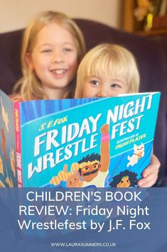 CHILDREN'S BOOK REVIEW: Friday Night Wrestlefest by J.F. Fox. A fun, quirky and colourful book about a time of day parents know well. #ChildrensBooks #BookReview #Wrestling #FunBooks Children's Books, Good Books, Book Reviews For Kids, Read Aloud, Phonics, Encouragement, Parents, Fox, Friday