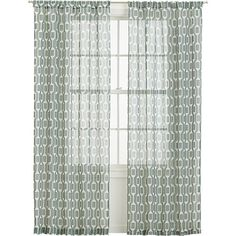 """Paradigm 48""""x84"""" Curtain Panel in Outlet Accessories 