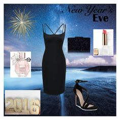 """""""New Year's Eve Party"""" by bellaclairecassedemont ❤ liked on Polyvore featuring Viktor & Rolf, Guerlain, Marc Jacobs and Carvela"""