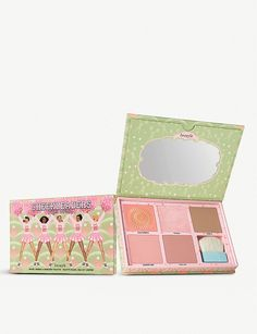 """Benefit Cheekleaders Pink Squad Cheek Heaven Palette CHEEKLEADERS Pink Squad blush, bronze & highlight palette Give us a P-I-N-K! Get """"pep rally pink"""" cheeks with our limited edition cheek palette to blush, bronze & highlight. Calendula Benefits, Matcha Benefits, Lemon Benefits, Coconut Health Benefits, Benefit Cosmetics, Benefit Makeup, Sephora, Heart Attack Symptoms, Tomato Nutrition"""