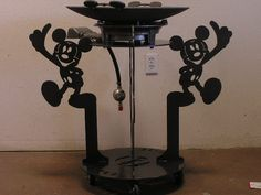 Mickey Mouse themed DISC-IT #discada #discitgrill #DISC-IT #cowboywok #mexicanwok #texaswok #MickeyMouse