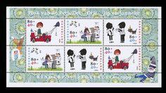 Postzegel Nederland 1999 Kinderpostzegels: Blok