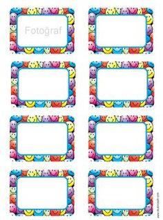 Dolap etiketlerini yazıcıdan çıktı alarak, yeni başlayan öğrencilerin dolaplarına Locker Name Tags, Cubby Name Tags, Flash Card Template, Tag Templates, Preschool Names, Preschool Arts And Crafts, Classroom Labels, Classroom Supplies, 100 Day Project Ideas