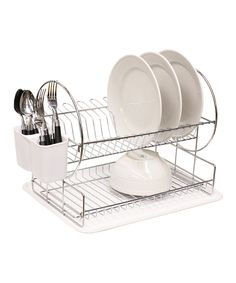 Dish Drying Rack Walmart Fair Check Out Yp006💕stainless Steel Dish Rack 2 Tier  Space Saver At