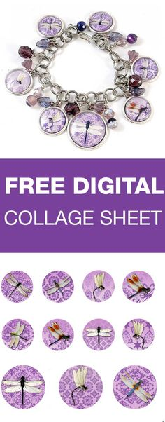Download, print, create - Digital Collage sheet are free for personal projects and small commerical use  | beadingtutorials.com.au Bottle Cap Projects, Bottle Cap Crafts, Bottle Caps, Diy Jewelry, Jewelry Making, Jewlery, Printable Pictures, Bottle Cap Images, Collage Sheet
