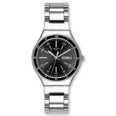 Swatch YGS749G Swatch. $85.61. Steel Bracelet Strap. Water Resistance : 3 ATM / 30 meters / 100 feet. Date. Save 29% Off!