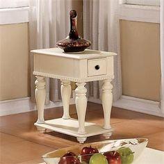 Addison Chairside Table I Riverside Furniture