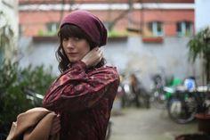 Olga Sicilia, autora del blog Checosa nos regala estas imágenes con nuestra blusa Boreal desde Berlín. La Böcöque