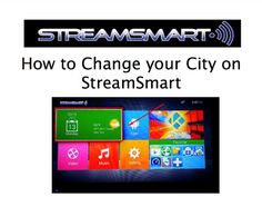 In this video we will take you step by step on how to change your city on StreamSmart.  Need a Box? Purchase Now: https://pitstoppost.com/streamsmart