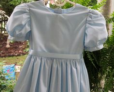 Wendy Darling Dress   Girl's Sizes  2  12   Custom by MimiKee, $46.00