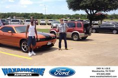https://flic.kr/p/Hy1KbS | #HappyBirthday to Quinton from Cody Lemley at Waxahachie Ford! | deliverymaxx.com/DealerReviews.aspx?DealerCode=E749