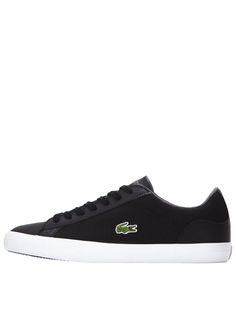 6f9730ad95be1 Lacoste Lerond Mens Trainers – Black A classic French style from a  high-quality brand