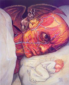 Insomnia by Alex Grey