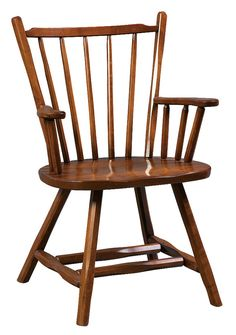 Frontier Arm Chair   Solid Hardwood Chairs And Benches   (oak, Maple, Cherry