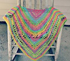 Ravelry: The Lydia Shawl pattern by Denise Crawford