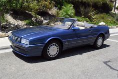 1993 CADILLAC ALLANTE ......Limited Edition... Montana Blue with Digital Dash and the first year of the NorthStar Engine...great car. My 1992 Allante was not fun ...electrical nightmare