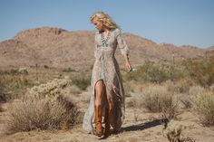 Spell and the Gypsy Collective_Boho Blossom Gown_Sage_8885