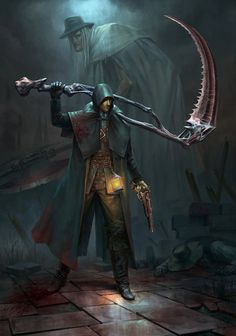 "gamiing-art: ""Hunter - Bloodborne fanart by Jortagul "" Dark Souls 3, Arte Dark Souls, Demon's Souls, Fantasy World, Dark Fantasy, Bloodborne Art, Bloodborne Cosplay, St Just, Soul Game"
