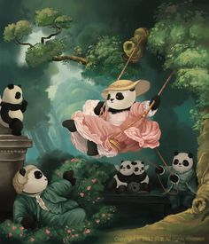 When Pandas Meet Arts