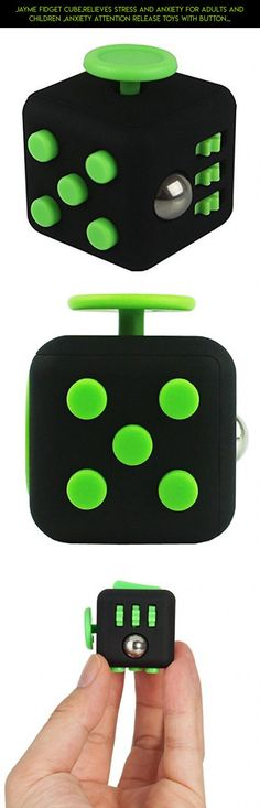 Jayme Fidget Cube,Relieves Stress and Anxiety for Adults and Children ,Anxiety Attention Release