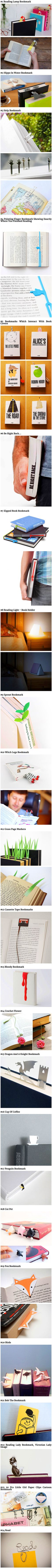 24 Ultra Creative Bookmarks That Geeks Would