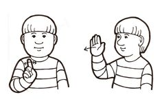 Sign Language, Minne, Boys, Fictional Characters, Art, Baby Boys, Art Background, Kunst, Performing Arts