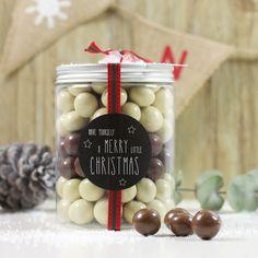 Bote chocolate Navidad regalo original
