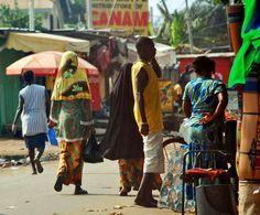 Street scene, Accra, Ghana