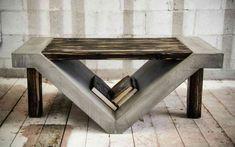 Мебель из бетона своими руками