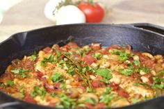 Tuscan Chicken Cast Iron Skillet Recipe is a real winner, perfect for the grill and easy enough t