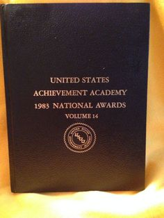 1983 United States Achievement Academy National Awards Vol 14 Book Hall of Fame