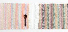 手織りのランチョンマット | 編み物キット販売・編み方ワークショップ|イトコバコ