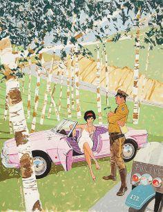 Illustration by Ben Denison, 1961